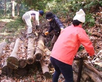 中の谷のシガラ作り.JPG