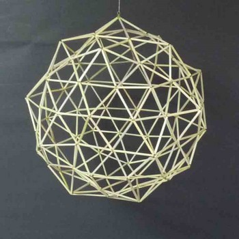 切頂20面体、筋違い補強による180面体球体.jpg
