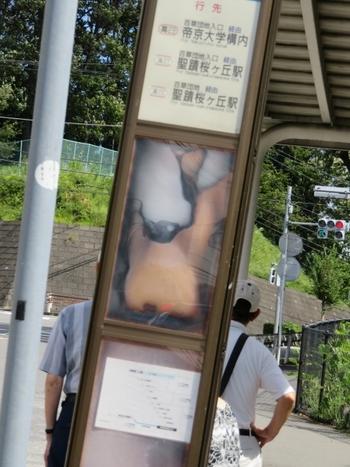 バス停アート.JPG