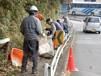 歩道の清掃.JPG