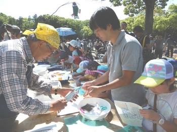 鯉のぼり作り.JPG